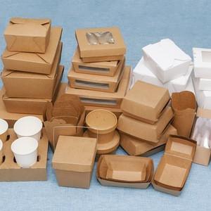 papierové food boxy